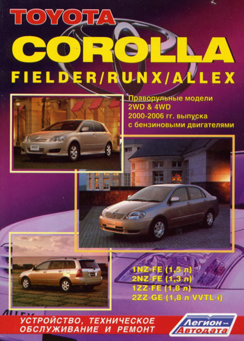 схема тормозная система автомобиля toyota corolla runx