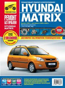 HYUNDAI MATRIX с 2001, 2005 и с 2008 г. Серия Ремонт без проблем