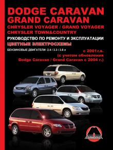 Chrysler Voyager/ Grand Voyager/ Town-Country с 2001 г. +обновления 2004 г., бензин
