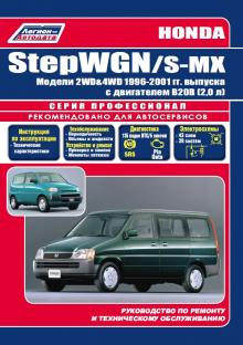 HONDA StepWGN, S-MX, с 1996 по 2001 г., бензин